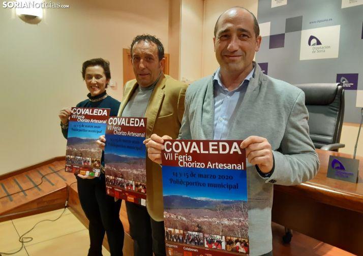 Tatiana Ramos (izq.), Raúl Lozano y José Llorente.