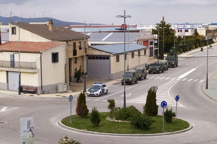 El Ejército de Tierra en Ólvega.