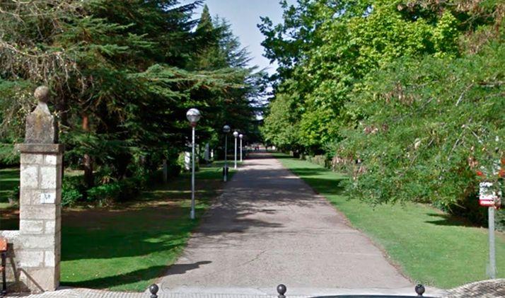 Parque de La Arboleda de Almazán.