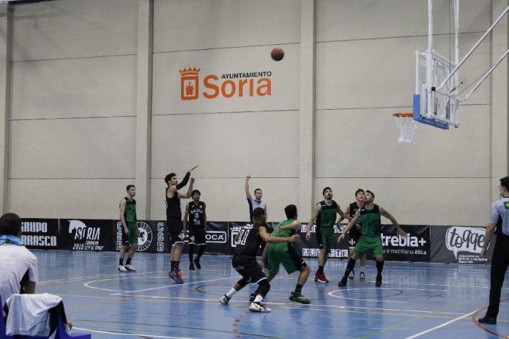 CBS Ciudad de Soria en el partido contra el Claret en el San Andrés
