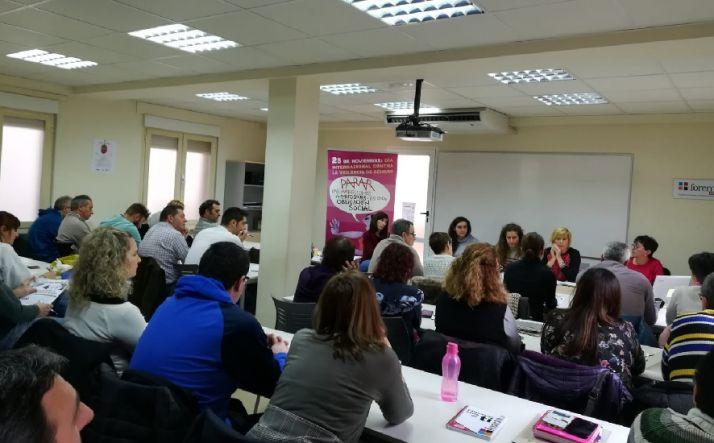 Mesa debate 'Horizonte 8M' en CC.OO