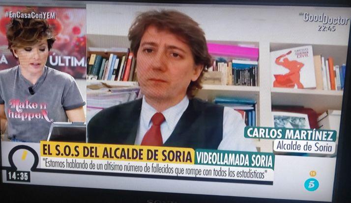 """Foto 1 - Mínguez: """"La realidad sobrepasa a los datos. Soria tiene el triple de muertos que en marzo de 2019"""""""