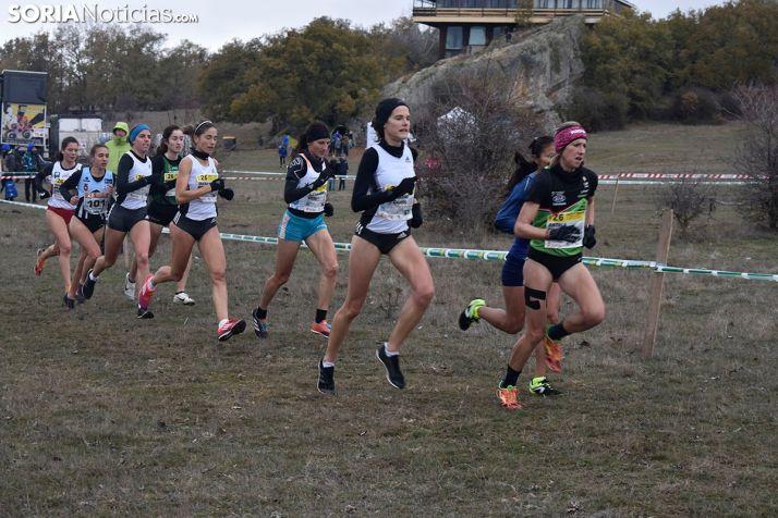Carerra femenina del Campeonato de Cross en Valonsadero