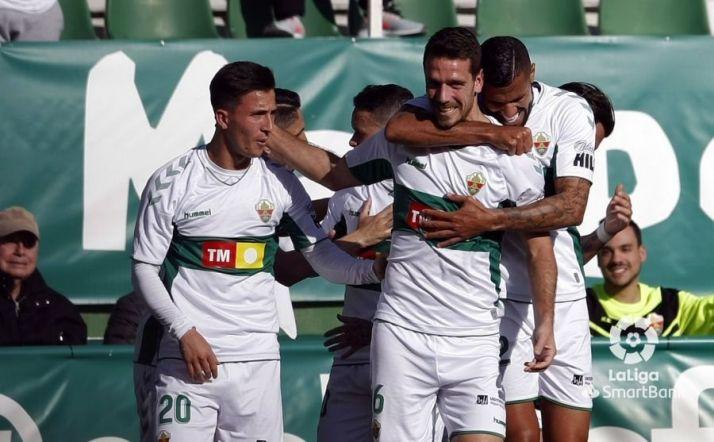 Dura derrota para un sufrido Numancia con uno menos en el campo (2-0)