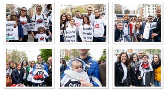 Foto 1 - 1 año de la revuelta de la España Vaciada. ¿Estuviste? Búscate en las fotos