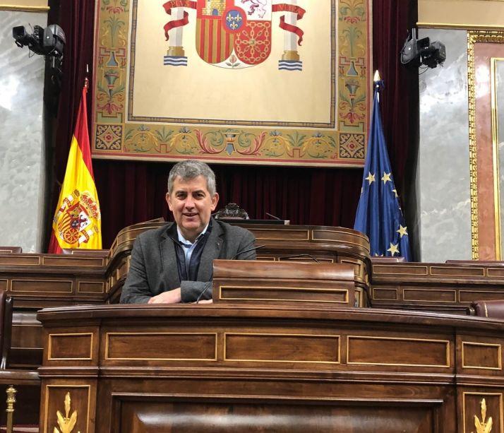 Javier Antón, diputado socialista en el Congreso
