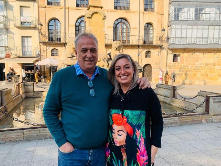 Carlos Lafuente y Ana Belén Marín Heras, jurados de Santiago