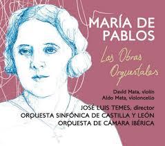 Foto 1 - La OSCyL y la Orquesta de Cámara Ibérica rescatan del olvido la figura de la compositora segoviana María de Pablos