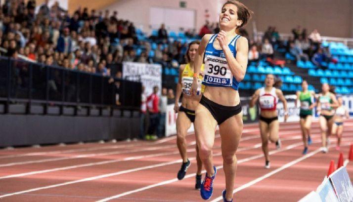 Marta Pérez, subcampeona de España de 1500 metros