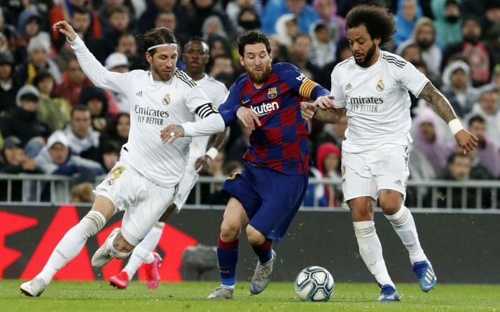 Messi durante el clásico. Miguel Ruiz - FC Barcelona