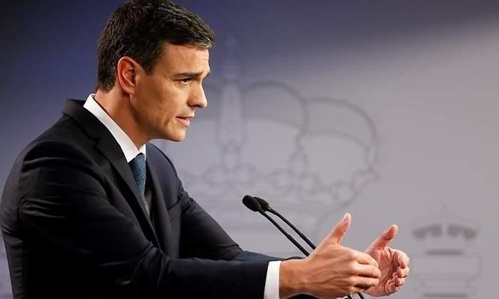 Pedro Sánchez, presidente del Gobieno de España