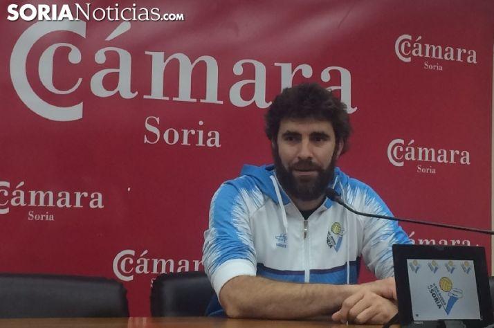 Manuel Sevillano, entrenador del Río Duero