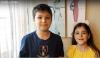 Dos pequeños sorianos residentes en Melilla.