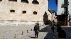 Presencia del Regimiento de Ingenieros en El Burgo