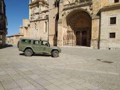 Foto 4 - Presencia del Regimiento de Ingenieros en El Burgo