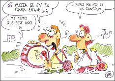 El humor de Quique Bastida no descansa en cuarentena