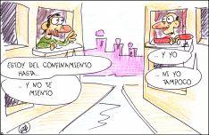 Foto 5 - El humor de Quique Bastida no descansa en cuarentena