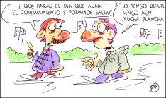 Foto 3 - El humor de Quique Bastida no descansa en cuarentena