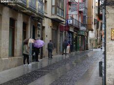 imágenes de Soria el 13 de abril.