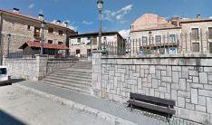 Una imagen del casco urbano de la localidad pinariega.