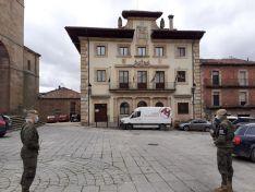El Ejército de Tierra en Pinares.