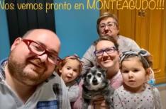 Un instante del vídeo de Monteagudo.