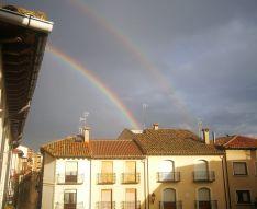 Después de la tormenta siempre sale el sol… ¡y a veces hasta dos arcoíris!