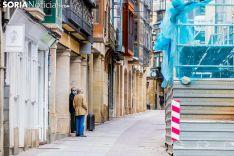 Imágenes tomadas en el centro de Soria el lunes 20 de abril de 2020. Viksar Fotografía