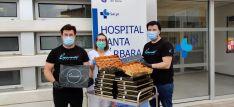 Grumer reparte 1.300 torrijas a los sanitarios y fuerzas de seguridad
