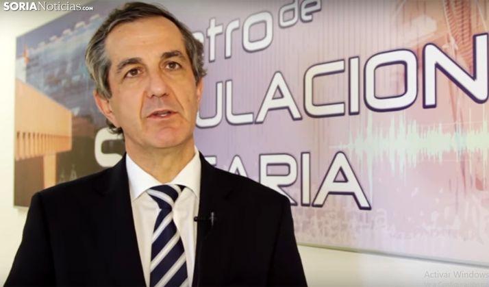 Alberto Caballero, director-gerente del IESCyL. /SN