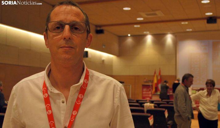 Alberto Lozano, de FESP-UGT Soria. /SN