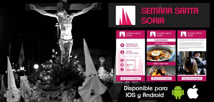 Foto 1 - Vive la Semana Santa soriana desde casa gracias a la APP impulsada por la Diputación