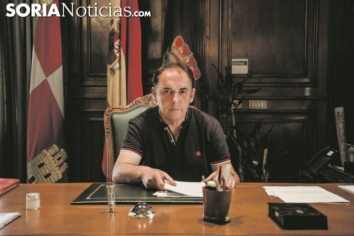 El presidente de la Diputación en una imagen de archivo.