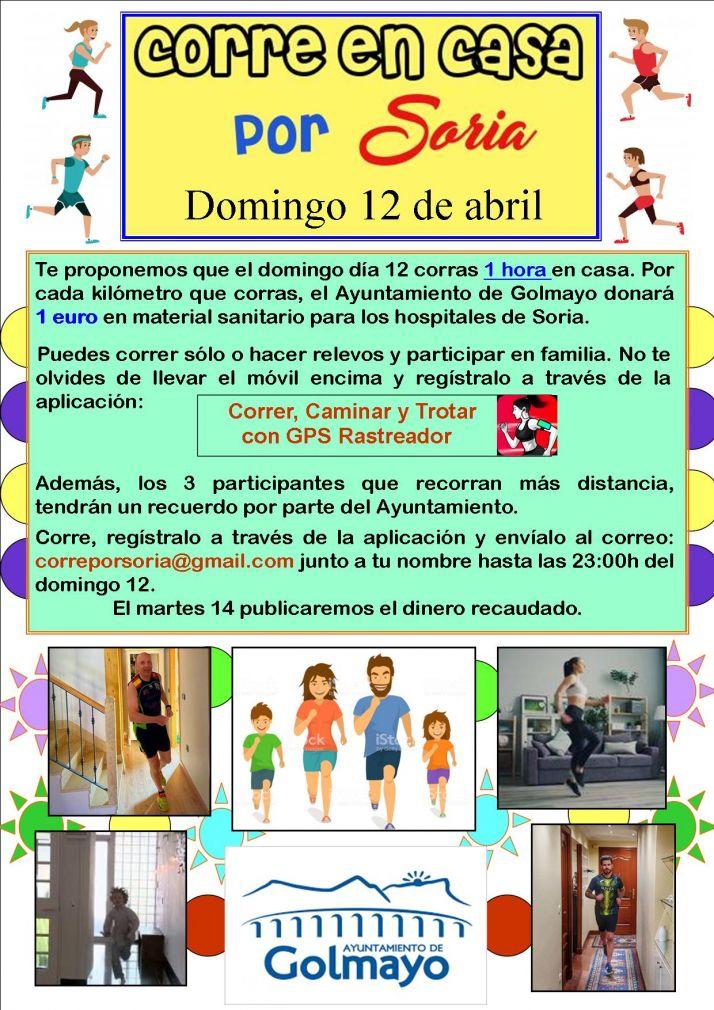 Foto 1 - Campaña solidaria contra el Coronavirus del Ayuntamiento de Golmayo