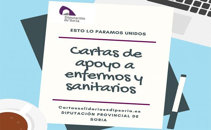 Foto 1 - La Diputación se suma a la iniciativa 'Cartas Solidarias' para afrontar de manera positiva la crisis sanitaria