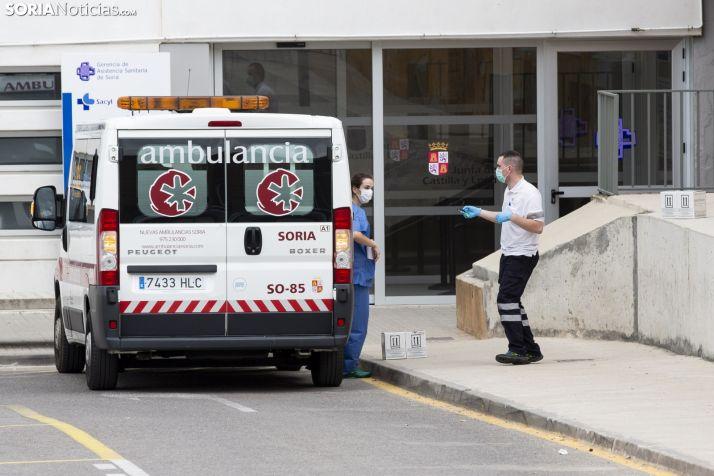 Exteriores del Hospital Santa Bárbara. /María Ferrer