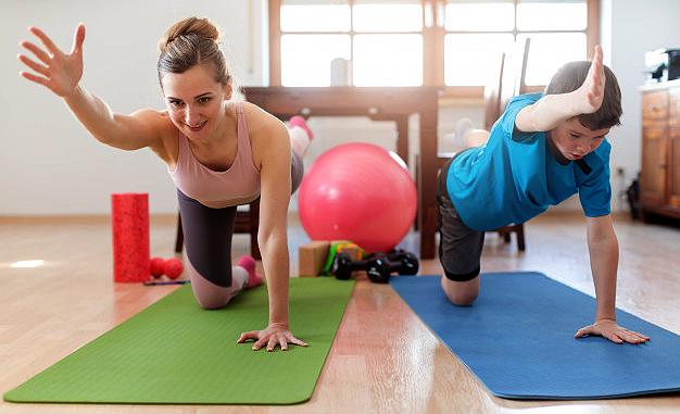 La Junta y Ciencias de la Actividad Física y el Deporte proponen planes de entrenamiento y fomentar el ejercicio en casa