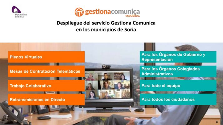 Despliegue de Gestiona en los municipios sorianos.