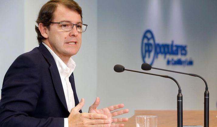 Alfonso Fernández Mañueco, presidente del PPCyL.