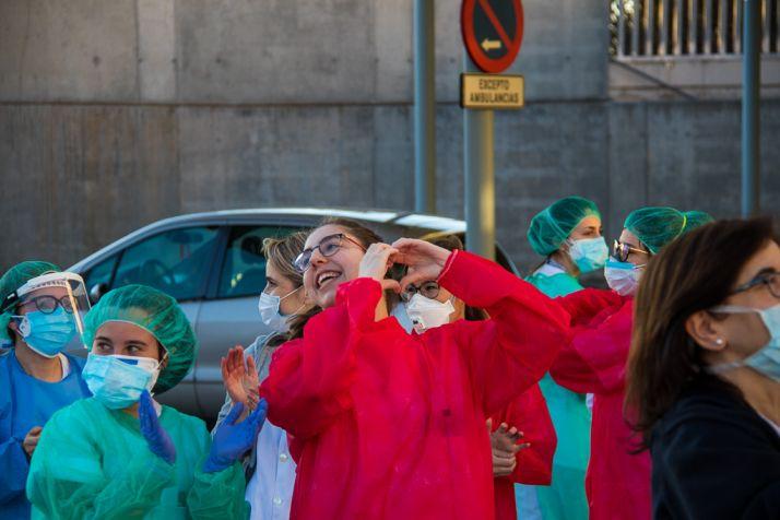 Foto 2 - Soria tiene 159 sanitarios con positivo y otros 51 aislados