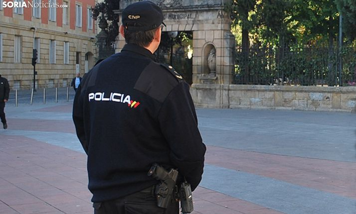 Policía Nacional en Mariano Granados.