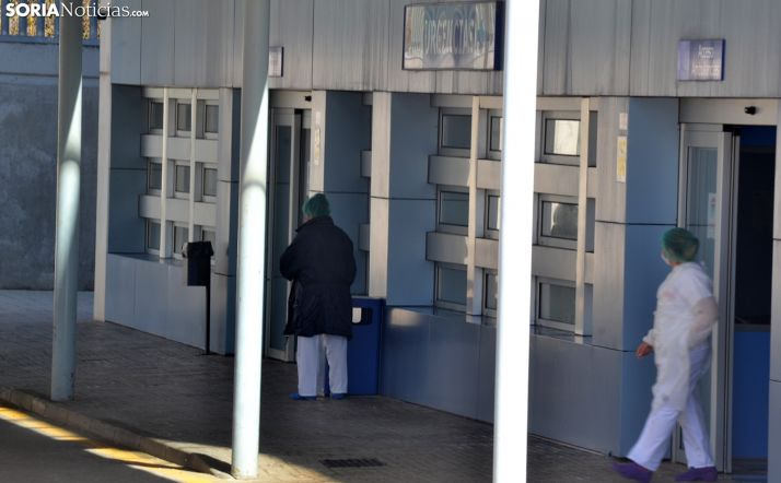 Imagen del la entrada al servicio de Urgencias del Santa Bárbara. /SN