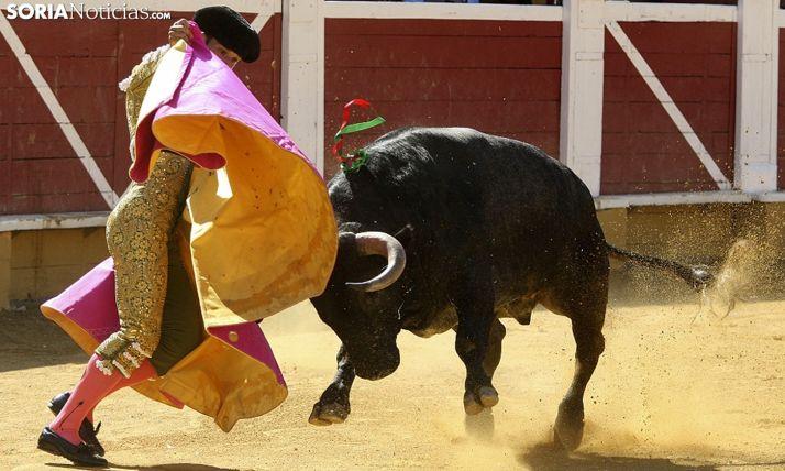 Toro lidiado en San Juan.