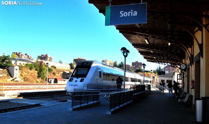 Una imagen de archivo de la estación El Cañuelo de Renfe. /SN
