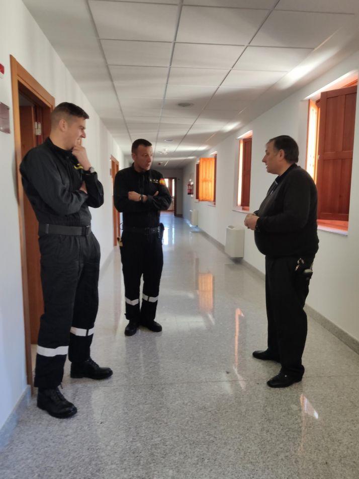 Una imagen de la estancia de la UME en el Seminario. /DOS