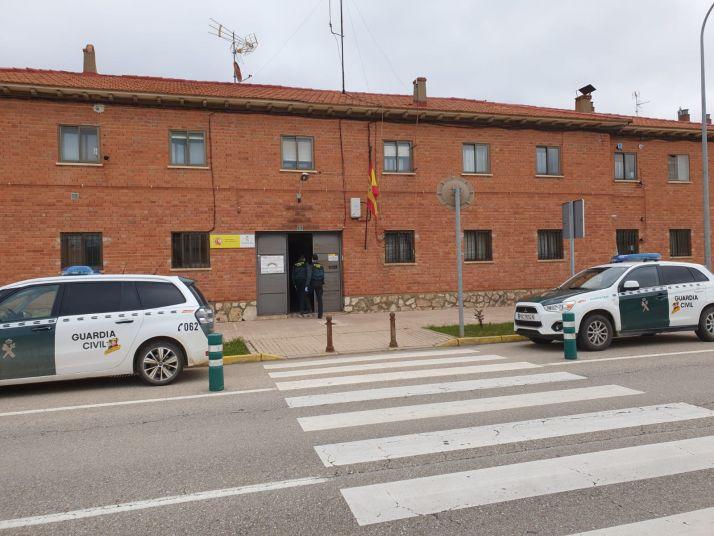 Imagen del cuartel de la Guardia Civil en San Esteban de Gormaz.