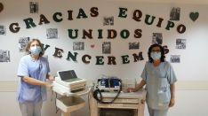 La Asociación El Matojo, de Ólvega, dona equipamiento para las UCI de Soria
