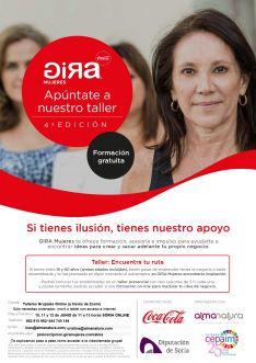El cartel sobre las jornadas en Soria. /Coca Cola