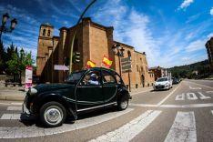 Foto 4 - En imágenes : Un centenar de vehículos secunda en Soria la protesta de Vox contra Sánchez