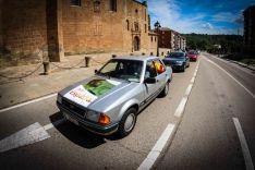 Foto 5 - En imágenes : Un centenar de vehículos secunda en Soria la protesta de Vox contra Sánchez